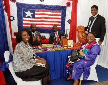 Made-In-Liberia products being exhibited at the Conference