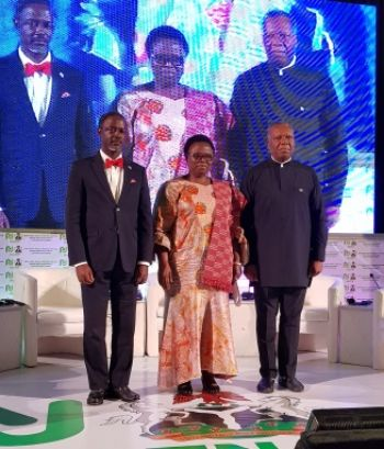 Minister Addy, Togolese Trade Minister and Chiedu Osakwe