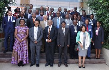 Group photo of Participants at the Enhanced Integrated Framework (EIF) Regional Program