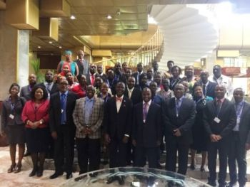 Group photo of participants at the ARIPO Council of Ministers