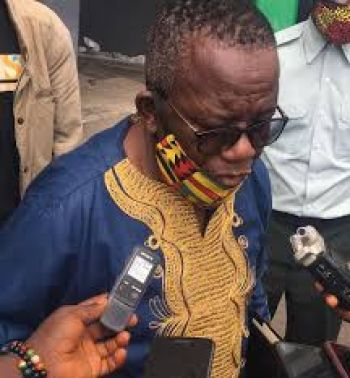 Minister Tarpeh Expressing Disappointment
