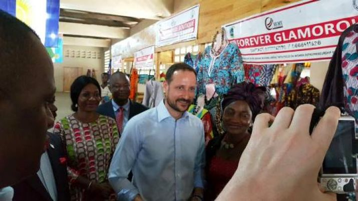 UNDP Goodwill Ambassador, His Royal Highness Crown Prince Haakon Of Norway Visits Liberia