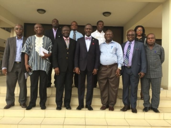 Minister Addy in Town Hall meeting with Business People in Gbarnga, Bong County