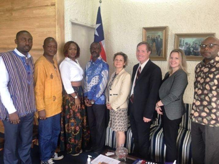 US Ambassador Pays Courtesy Call On Minister Axel M. Addy