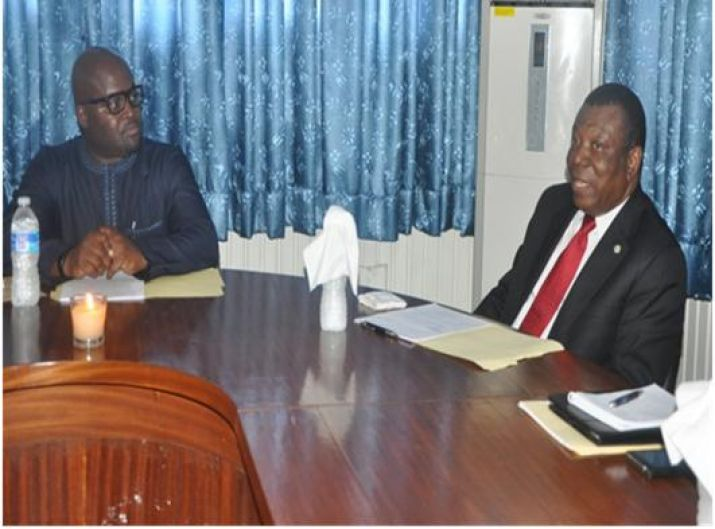 ECOWAS Vice President Visits Ministry of Commerce and Industry (Holds discussions on ECOWAS Trade Levy)