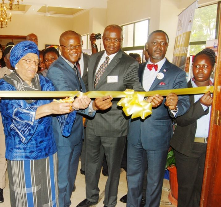 President Ellen Johnson-Sirleaf launches Ministry of Commerce and Industry's Small Business Administration's Flagship Annual MSME Conference